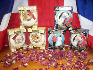 selection of boxed potpourri
